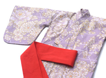 Light Purple Yukata Set